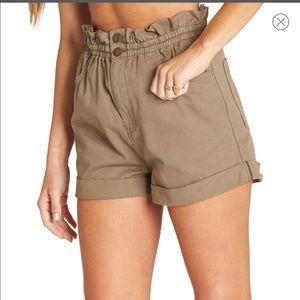 Billabong Sun Dialed Paperbag Shorts